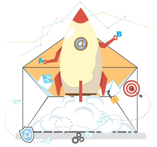 Email automation image for sales lead generation services